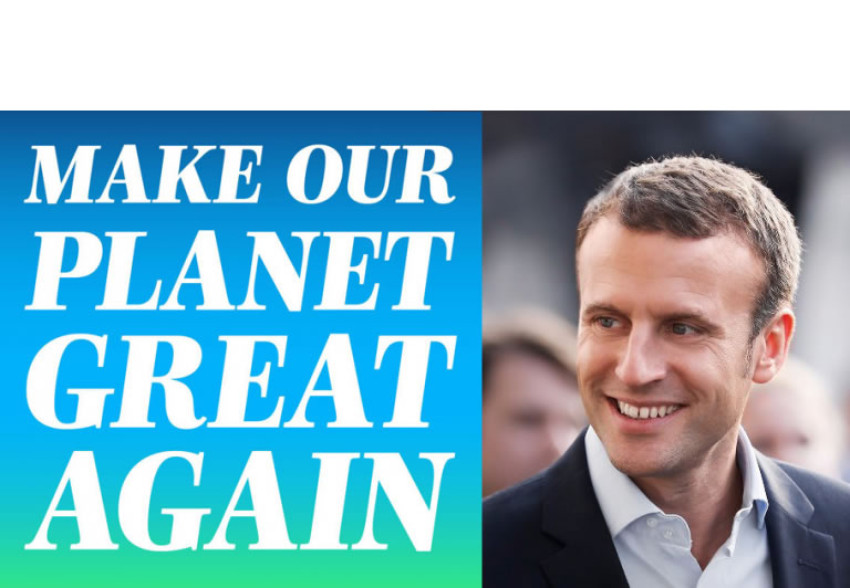 Climate Change site Make Our Planet Great Again post image