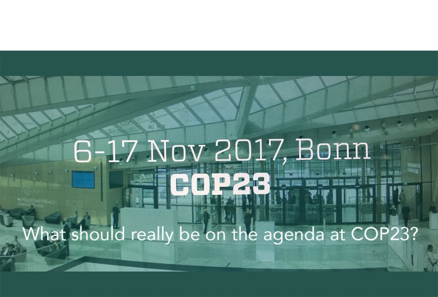 Climate Change site Our Point of View on the occasion of the COP 23 post image