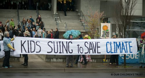 Climate Change site Using the Courts to Save the Climate post image
