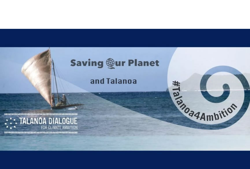 Climate Change site Saving Our Planet participates in the UN Talanoa dialogue post image