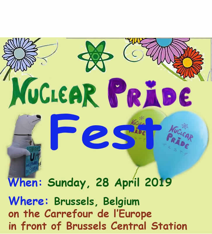 Climate Change site After its success in Munich in October 2018, the Nuclear Pride Fest is back post image
