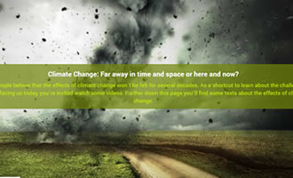 Climate change site Challenges