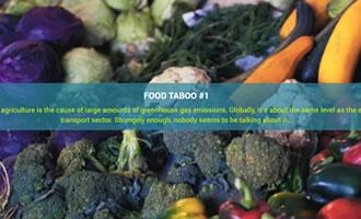 Climate change site Food link image