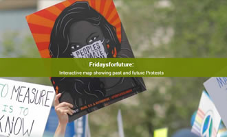 Climate change site FridaysForFuture link image