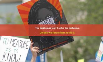 Climate change site Mobilization link image