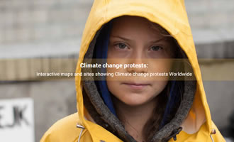 Climate change site Protests link image