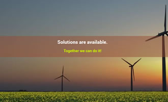Climate change site Solutions Links link image