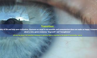 Climate change site Transition Links link image