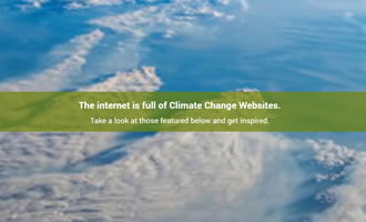 Climate change site Recommended Links link image